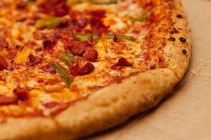 Mmmm, pizza.